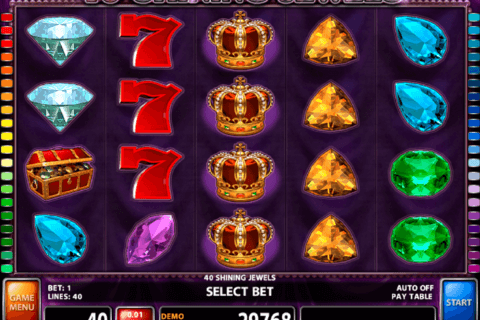 40 shining jewels casino technology