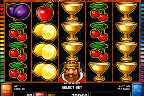 40 treasures casino technology