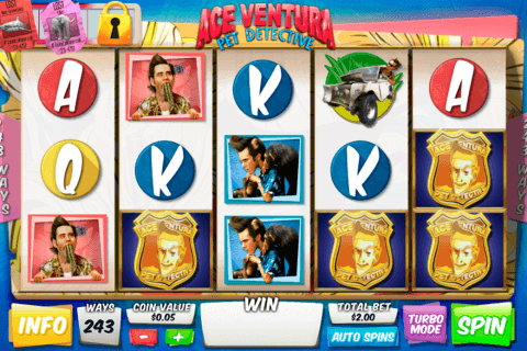 ace ventura pet detective playtech