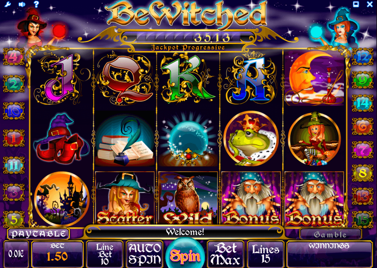 bewitched isoftbet