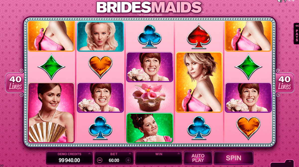 bridesmaids microgaming