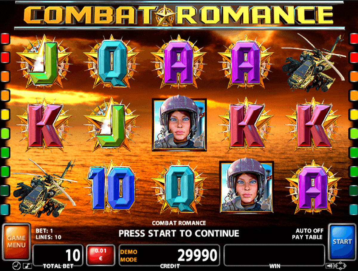 combat romance casino technology