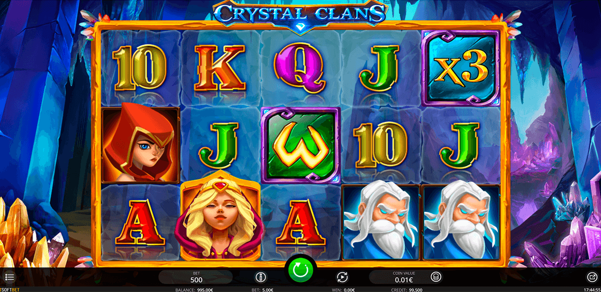 crystal clans isoftbet