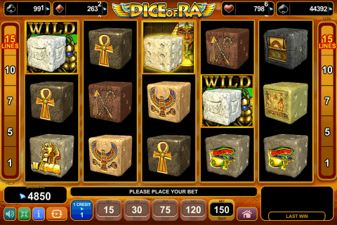 dice of ra egt