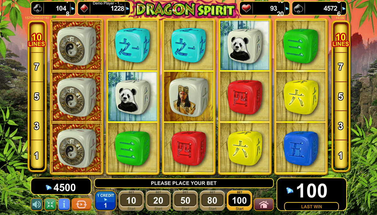 dragon spirit egt