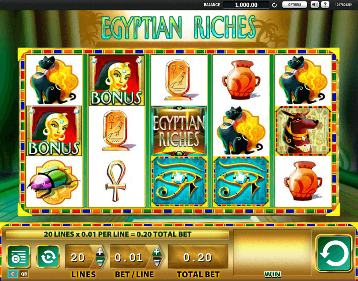 egyptian riches wms