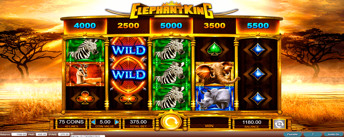 elephant king igt