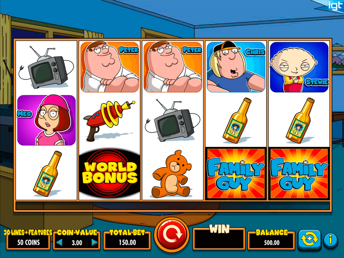 family guy igt