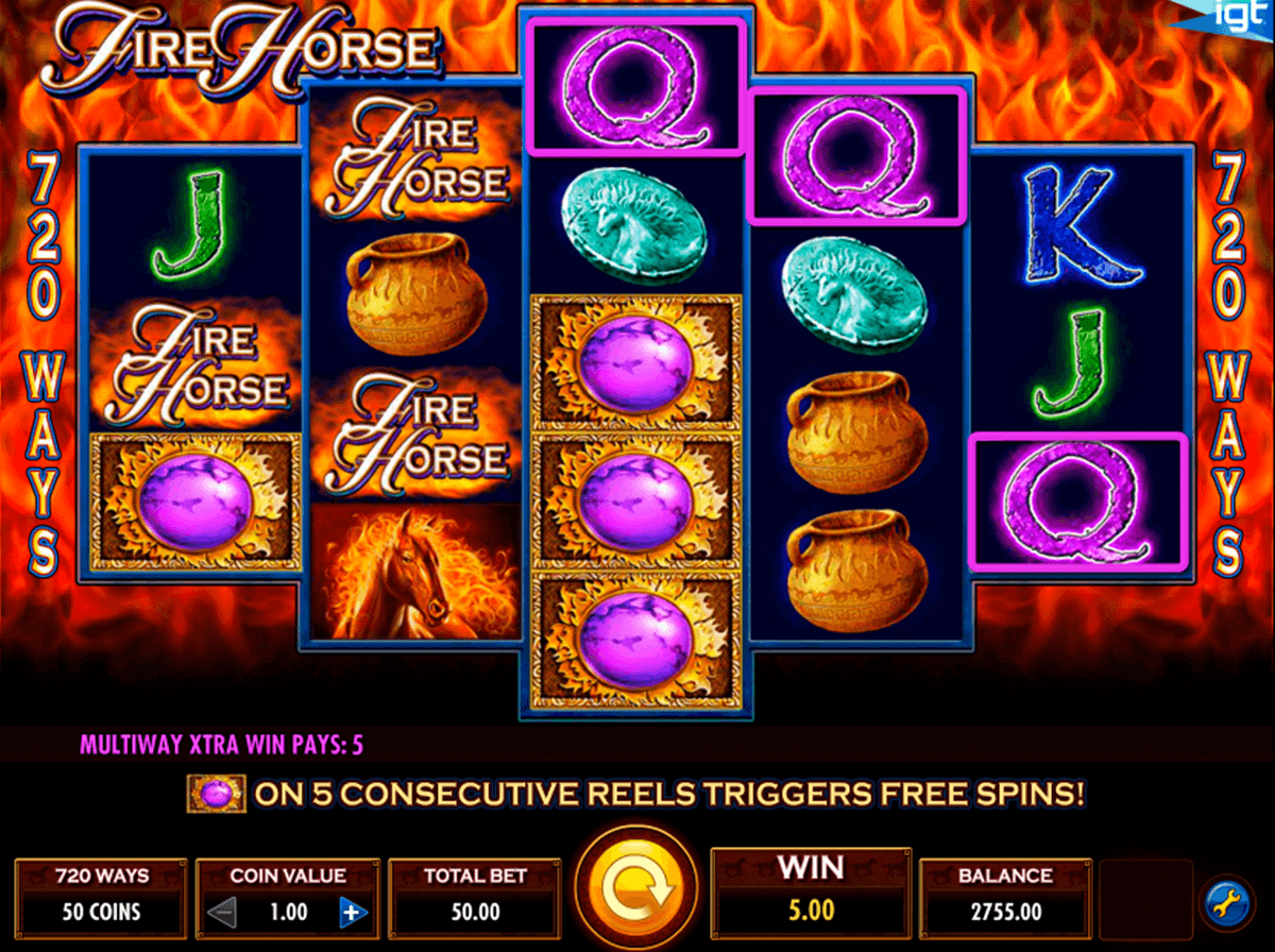 fire horse igt