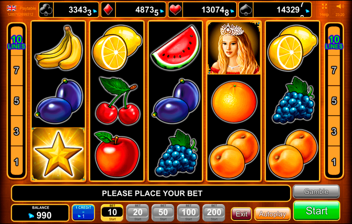 Free slot fruit machine games