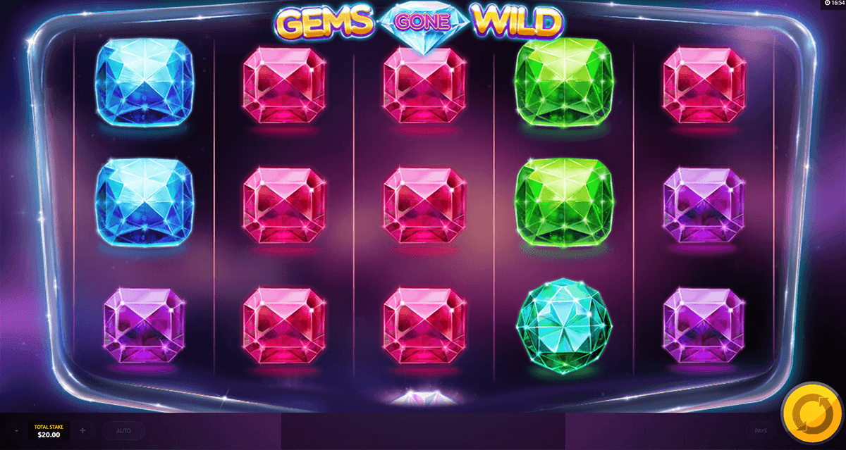 gems gone wild red tiger