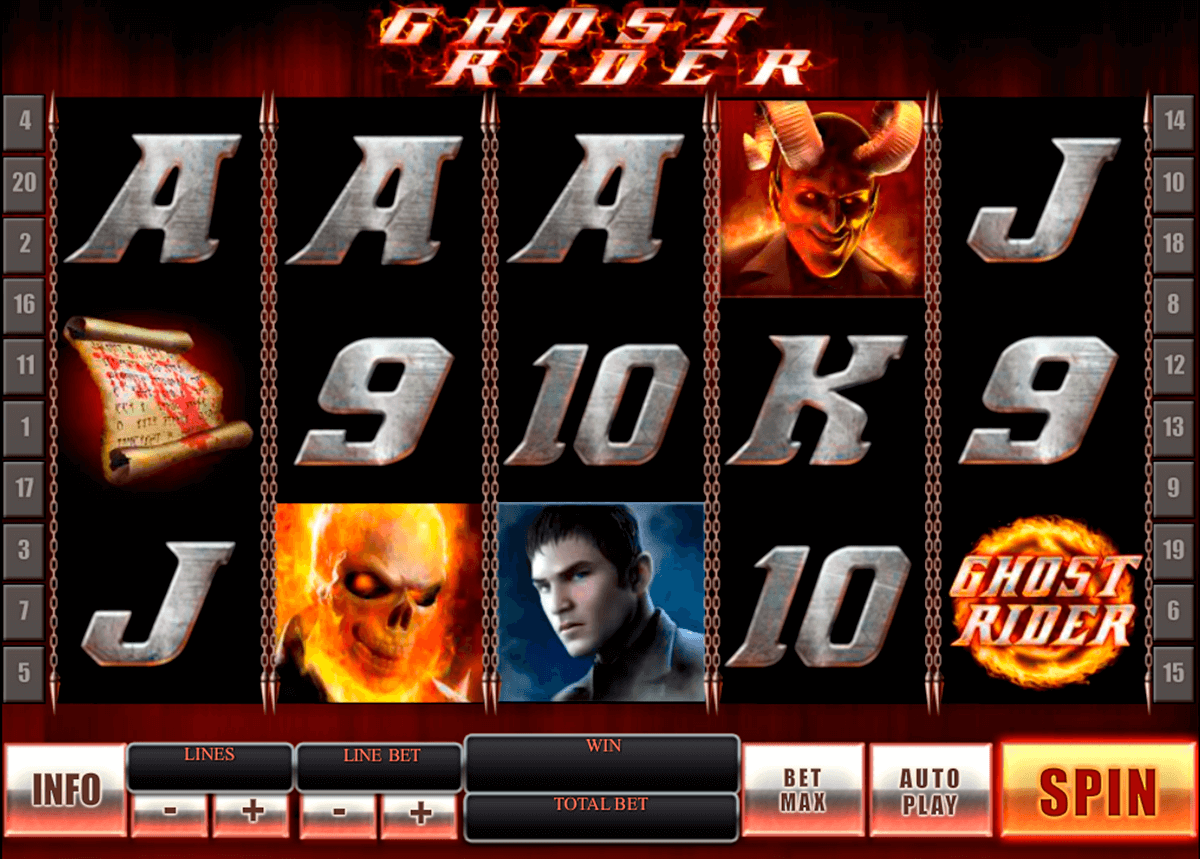 ghost rider playtech
