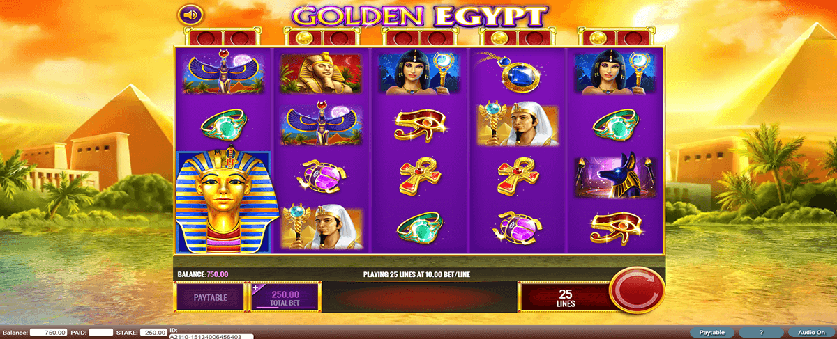 golden egypt igt