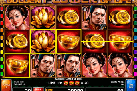 golden flower of life casino technology