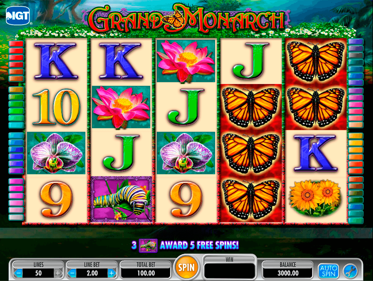 grand monarch igt