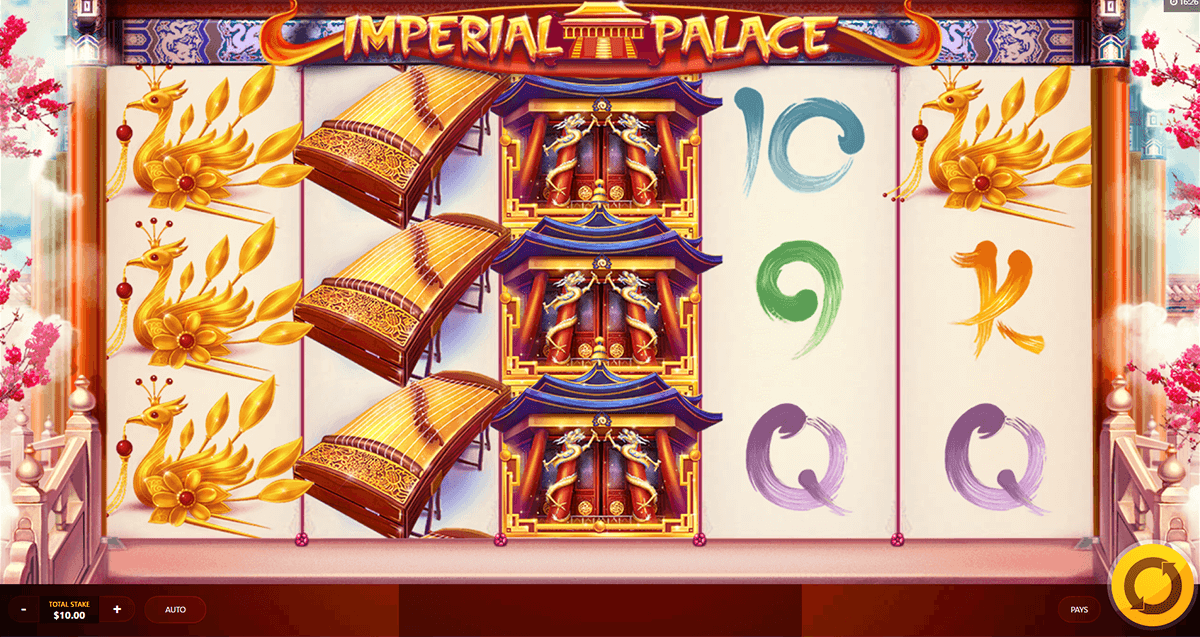 imperial palace red tiger