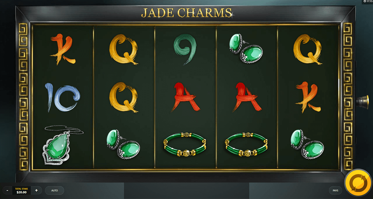 jade charms red tiger