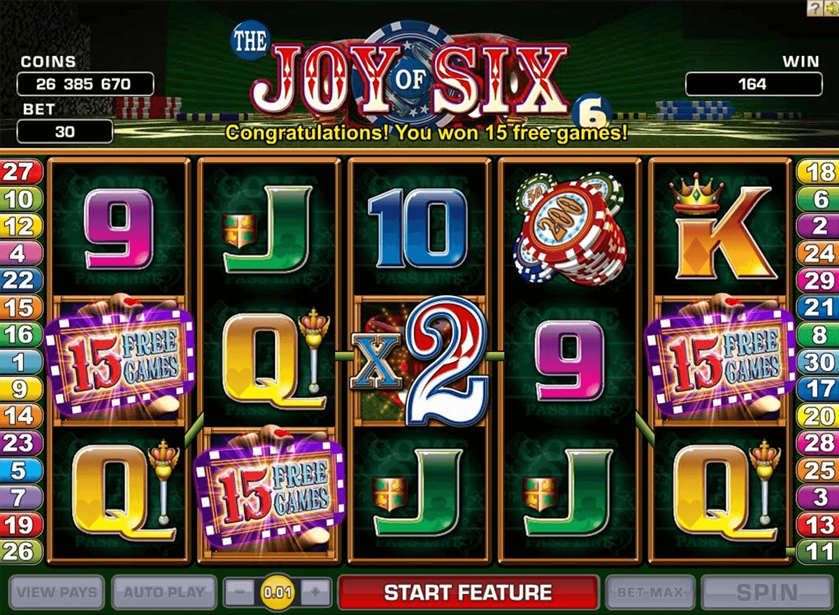 joy of six microgaming