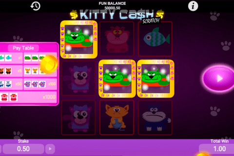 kitty cash scratch 1x2gaming