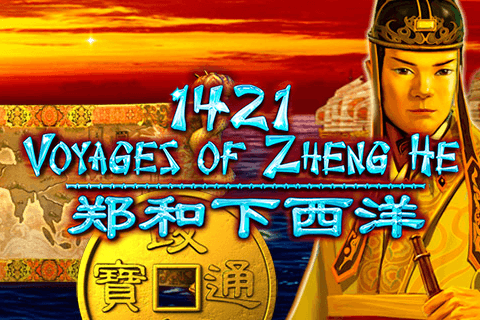 logo 1421 voyages of zheng he igt