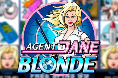 logo agent jane blonde microgaming