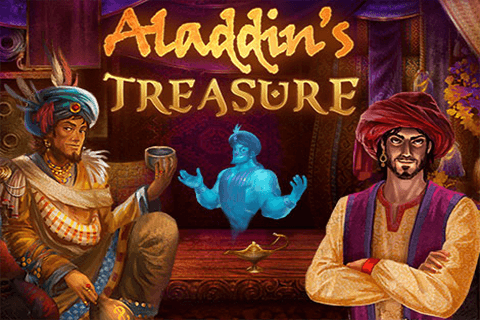 logo aladdin s treasure pragmatic