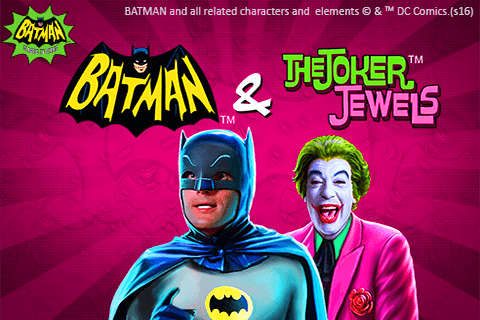 logo batman the joker jewels playtech