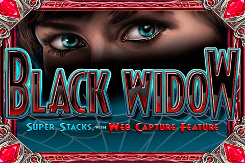 logo black widow igt