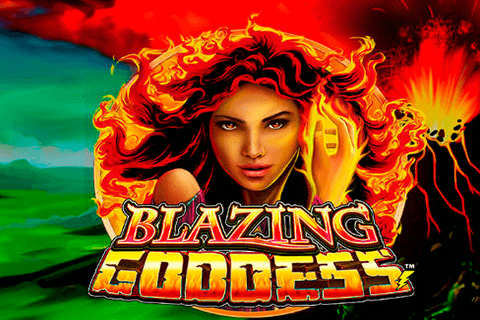 logo blazing goddess lightning box