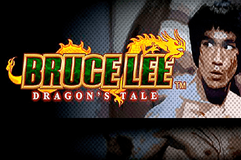 logo bruce lee dragons tale wms