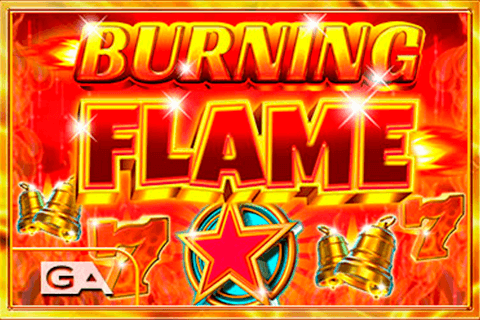 logo burning flame gameart