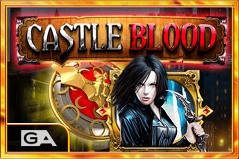logo castle blood gameart