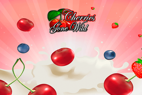 logo cherries gone wild microgaming