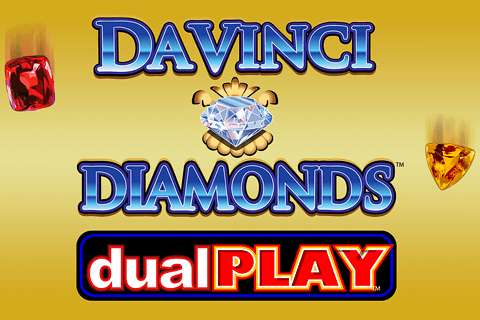 logo da vinci diamond dual play igt