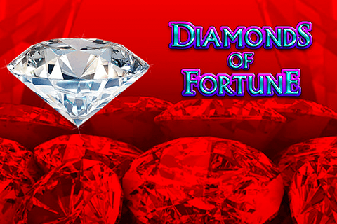 logo diamonds of fortune novomatic