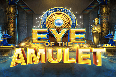 logo eye of the amulet isoftbet
