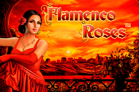 logo flamenco roses novomatic