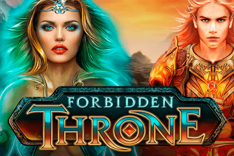 logo forbidden throne microgaming