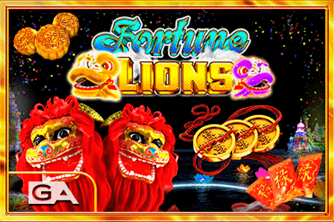 logo fortune lions gameart