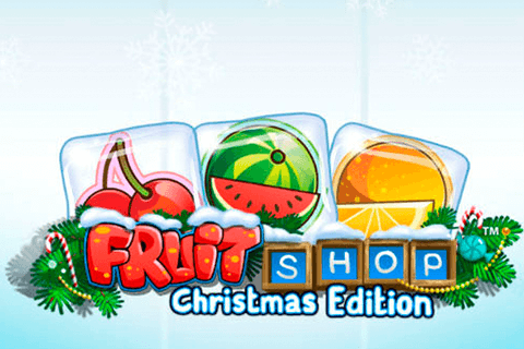 logo fruit shop christmas edition netent