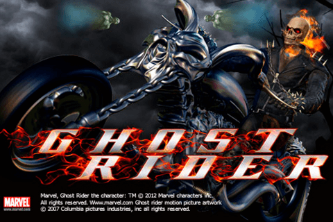 logo ghost rider playtech