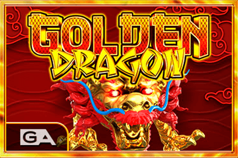 logo golden dragon gameart