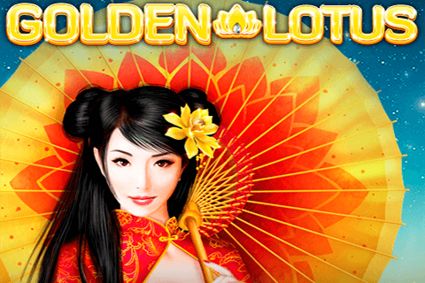 logo golden lotus red tiger