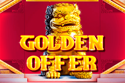 logo golden offer red tiger