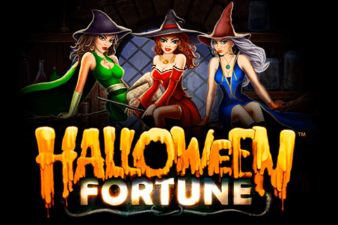 logo halloween fortune playtech