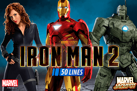 logo iron man 2 50 lines playtech