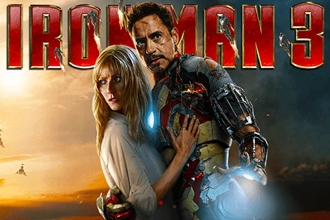 logo iron man 3 playtech