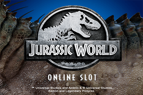logo jurassic world microgaming