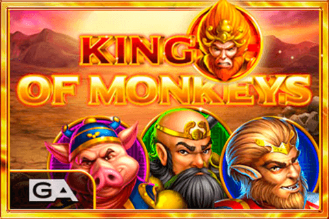 logo king of monkeys gameart