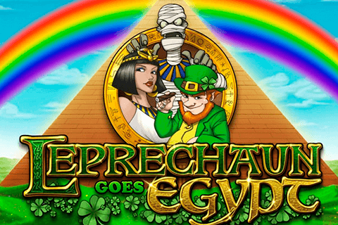 logo leprechaun goes egypt playn go